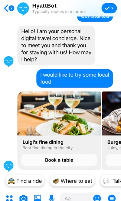 Chatbots & AI for Hospitality Industry #westmmice